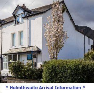 arrival info image Holmthwaite